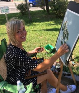 Janet Knight   Tutor at Tuscany in the Frame Italian Workshops